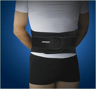 back support, sport support, lumbar support, waist protector with strengthe belt, lumbar protector free china post shipping