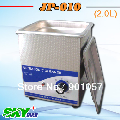 free shipping!!skymen 2L mini automatic ultrasonic jewel cleaner