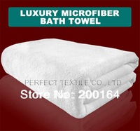 Wholesale 1pc/lot 70x140cm White Microfiber Bath Towel Beach Sheet For Spa & Sauna 120002