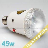 New Arrive Photo Studio Light Slave Flash Bulb 45w E27 S45T PSLF5