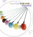 Free shipping 100pcs/lot Chocolate In-ear Stereo earphone,without package colorful headphones for Mp3 player