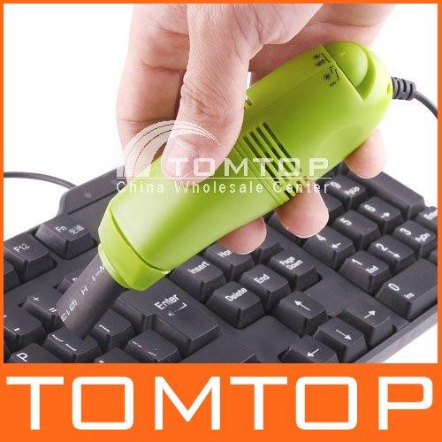 MINI USB VACUUM KEYBOARD CLEANER for PC LAPTOP, freeshipping,Dropshipping Wholesale(China (Mainland))