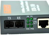 10//100M (2KM),multimode SC  fiber media converter