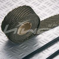 titanium turbo wrap,Exhaust Wrap,Header Wrap,2''*50'(include 5 FREE 304 stainless steel zip ties)