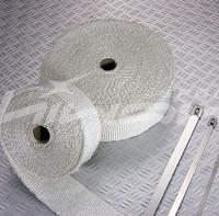 Thermal Wrap,Exhaust heat Wrap Fiber Glass,2''*50'(include 5 FREE zip ties)
