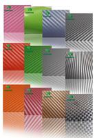Fedex  Free shipping! wholesale price 1.52*30M/Roll 3D Carbon Fiber Vinyl Car Sticker,car wrap KF90005-PVC