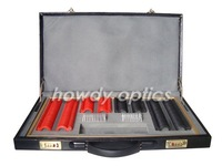 Free Shipping,HPL-266 Trial Lens Set,Trial Lens Case,Plastic Rim and Leather Case