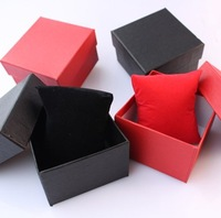 Free shipping 20pcs/lot watch box with pillow watch package watch packing box watch gift box