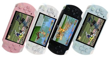 Free shipping,game console,4.3inch mp3/mp4/mp5 player with AV Out,1.3Mp camera,support to play for GBA,BIN Game.