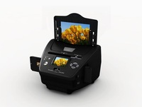 2.4 inch COMBO photo /Business card/slide /negative 4-in-1 film scanner with CE/FCC/ROHS
