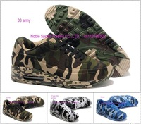 2012 newest women/men's running shoes fashion army navy air camouflage canvas rubber max sole wearproof sport shoes size36-46