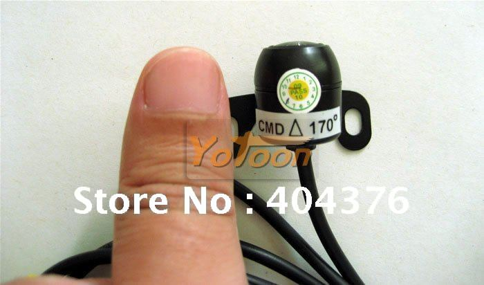 car rearview camera--1.7mm lens Mini 170 angle car camera Information Auto backup cameras(China (Mainland))