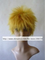 Cosplay wigs - Party wig Naruto Shippuden Uzumaki Naruto cosplay wig hair for Halloween Free shipping