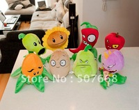 Plush Toys Plants vs Zombies PVZ Soft Toy (14--19cm) Factory Products 200pcs/lot Fre Shipping