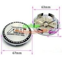 ABT GTI  R Wheel Center Caps67MM  FOR VW / wheel hub cover /car Badge,car emblem wheel cover for VW Safe shipping