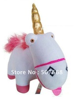 New Arrival Despicable Me Plush Minion Unicorn Plush Doll  100pcs/lot Free shipping