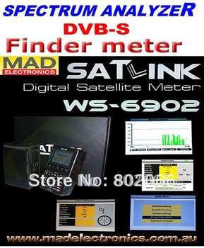 2011  free shipping  Signal meter satlink satellite meter finder  WS6902