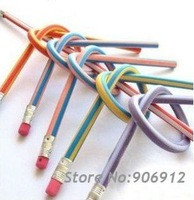 Free shipping, Hot sale colorful magic soft pencil,50 pieces/lot