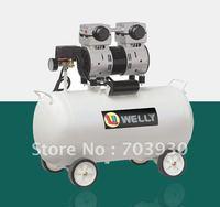 Model DN80050-1 silent oil-free dental air compressor for 2 dental chairs