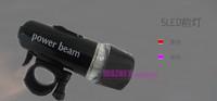 400pcs/lot Power Beam LED Bike Bicycle Cycle Torch Headlight Lamp