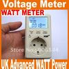 Free shipping energy meter EU Advanced WATT Power Energy Voltage Meter Monitor