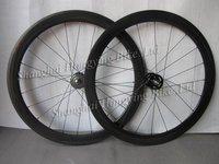 Full carbon track wheels 50mm fixed gear bike wheels 700C