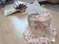 FreeShipping-wholesale-Creative fabric tissue box cover for promotion/100% Cotton/High Quality/Fitting/Decoration