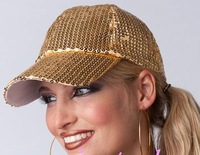 NEW Sequins hat /baseball cap  / can MIXED+ WHOLESALE+EMS/DHL/FEDEX   free shipping