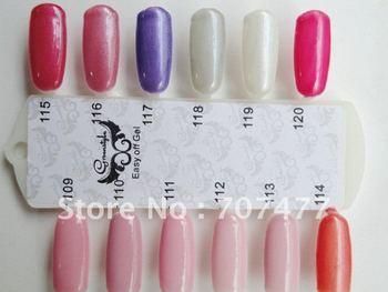 PS FREE SHIPPING 15ml/pcs led soak off color uv gel nail polish for nail art,1 year quality guarantee