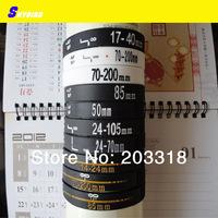 20pcs/lot  New Lens Bracelet Silicone Bracelets  50 24-70 17-40 24-105 14-24 85 70-200mm wristband bangles gift