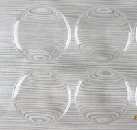 Wholesale 1000pcs 1 1/4 inch round clear epoxy resin Stickers Free Shipping for craft