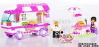 M38-B0155 Sluban Building Block Set compatible with lego 3D Enlighten Construction Brick Toys Educational Block toy for Children