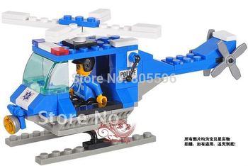 M38-B0175 Enlighten Building Block Set 3D Construction Brick Toys Educational Block toy for Children