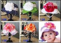 baby girls hat UV sun hat sun hat cap summer bonnet cap Princess 0608