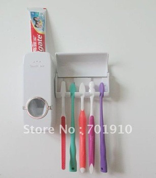Free Shipping wholesale new AUTOMATIC TOOTHPASTE DISPENSER NT-1006 on sale