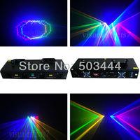 800mW RGYB 4 Lens 4 Color DJ Equipment Disco Light Party Club Christmas Stage Laser Light