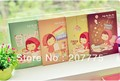 Freeshipping!Wholesale,New Creative Cartoon Girl Mini Note pads Memo,Memo Pads,diary