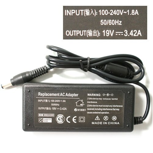 N101 Laptop AC Adapter for Lenovo/Asus/Toshiba/BenQ 19V 3.42A 5.5 X 2.5 MM AC Adapter Power Supply Charger free shipping(China (Mainland))