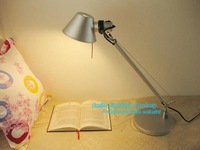 Free Shipping Hot selling Classical Modern Job Desk Table Lamp With New Arrival Aluminium luminaria de mesa Table Lights Fixture
