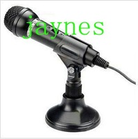 free shipping hot sales SM-098 Microphone / Microphone / network K song / language chat / recording computer microphone 1pcs
