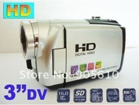 "FREE SHIPPING 3.0"" LCD 16.0 MP Digital Video Camcorder Camera DV SILVER"