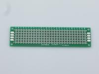 50pcs 2x8 cm PROTOTYPE PCB 2 layer 2*8 panel Universal Board , free shipping #1079