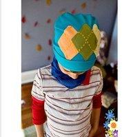 2014  baby headband  girl hat Top Baby hats girls' hat boy's hat headband caps flower beanie caps0704#50pcs