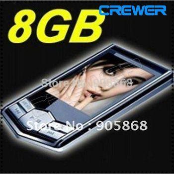 """Free SHip mp3 8GB New Slim 1.8""""LCD  Radio FM Player Free Gift"""
