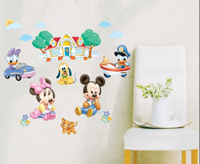 Exceptional Baby Mickey Mouse Wall Stickers Great Pictures Part 7