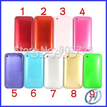 Back Housing Battery Cover Case With Sim Tray for iPhone 3 3G 8GB 16GB 30PCS LOT