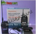 Free  shipping WOUXUN   KG-UVD1P    Professional  Handheld Two-way Radio with Dualband Dual frequency Dual display Dual standby