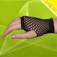 Free shipping brand new& high quality fishnet gloves