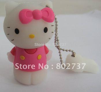 Pink Hello Kitty pen drive flash drive , hard drive , wholesale price