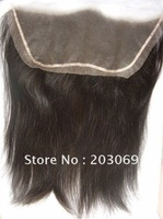 "Stock 100% Indian remy hair 13""x4"" lace frontals, 120% density ,12inch-20inch, free shipping"